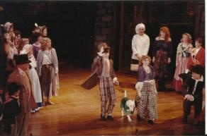 Oliver! curtain call
